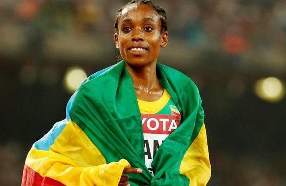 Un titre olympique et le record du monde du 10000 m pour Almaz Ayana