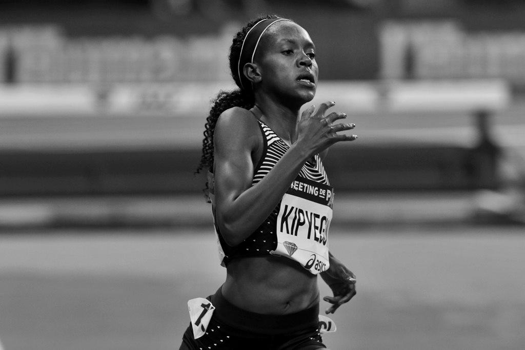 Ruth Kipyegon la championne olympique du 1500 m à Rio