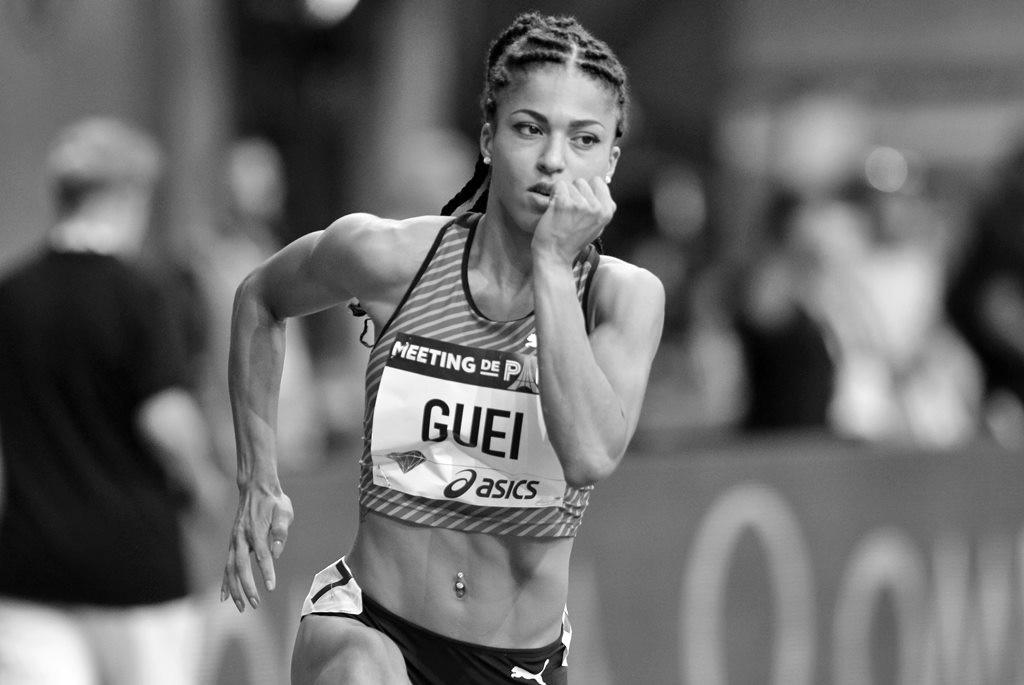 Fiona Guei sur 400 m