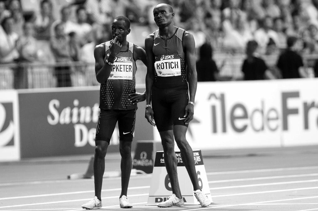 Les deux kenyans Kipketer perplexes