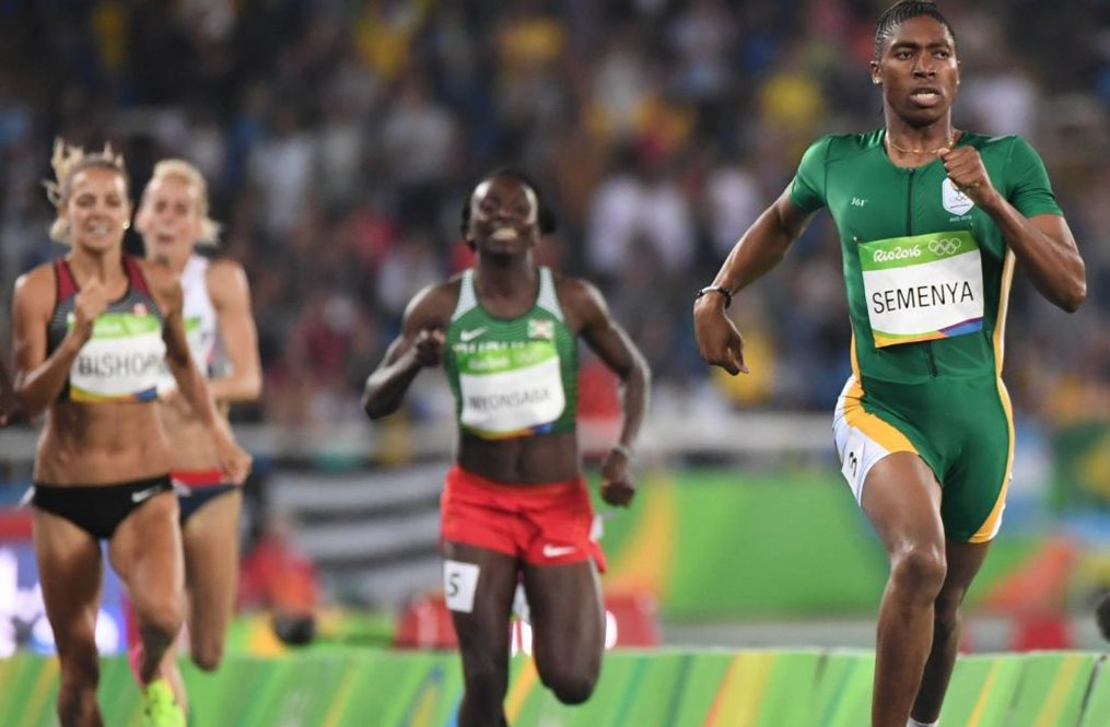 Caster Semenya, championne olympique du 800 m