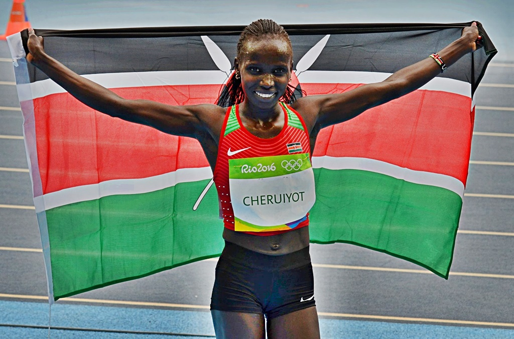 Vivian Cheruiyot championne olympique sur 5000 m