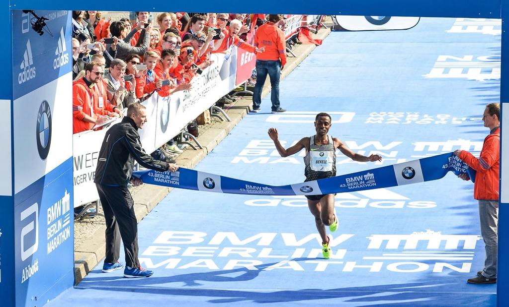 Quel finish pour Bekele vainqueur à Berlin en 2h 03'03''