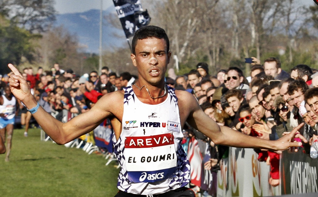 Othmane el Goumri cross le Pontet 2014