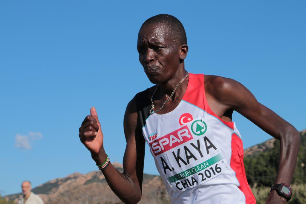 Aras Kaya (Turquie) vainqueur chez les seniors hommes