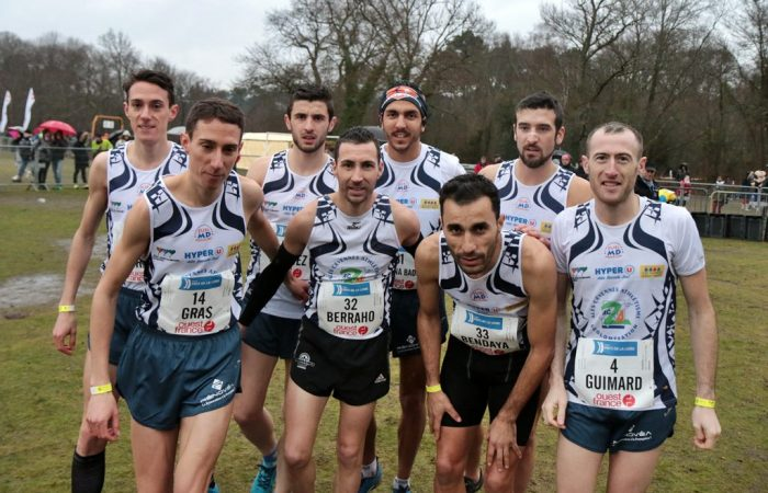 L'AC Alès a retrouvé le titre de champion de France de cross de 2016 !