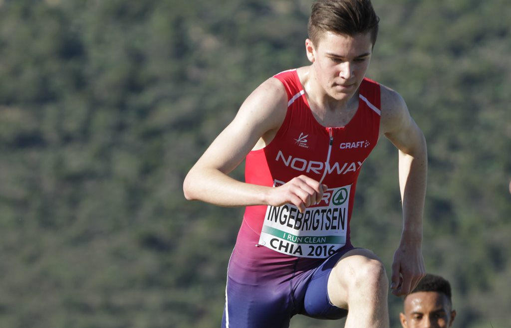 Chia Europe de cross Jakob Ingebrigtsen