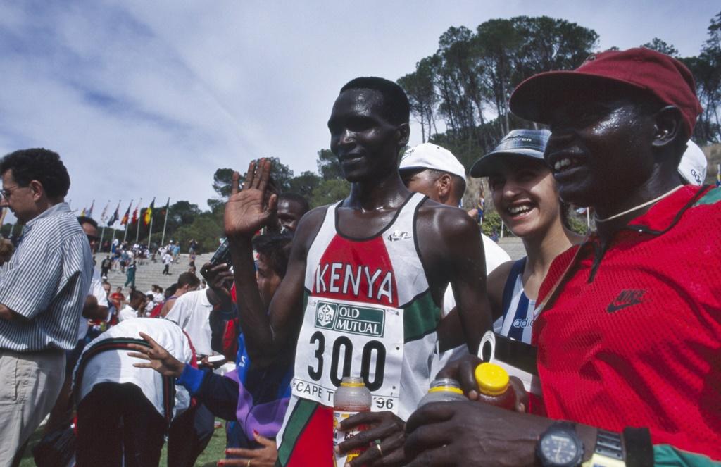 Mondial de cross 1996 Stellenbosch Paul Tergat