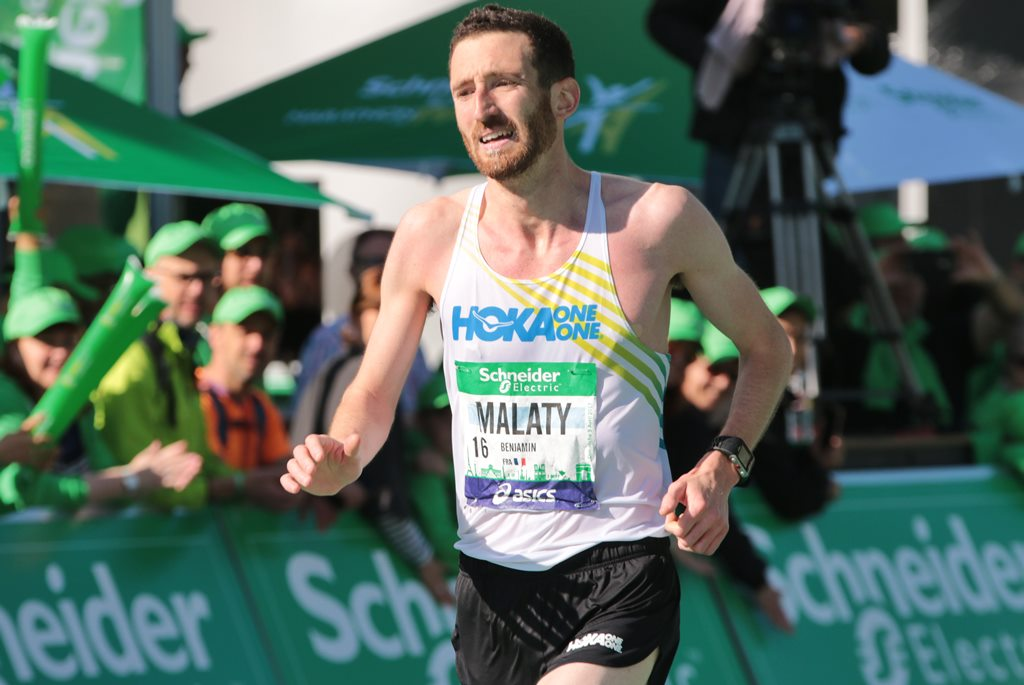 Benjamin Malaty, Marathon de Paris