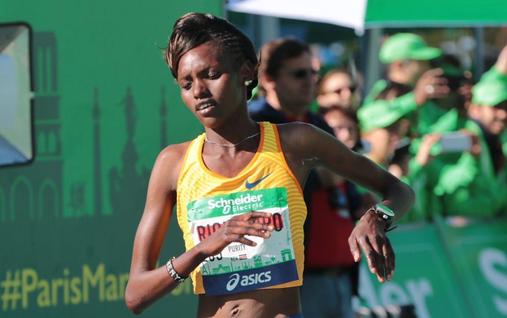 Prurity Rionoripo première au marathon de Paris en 2017