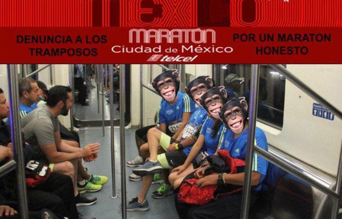 Plus de 5000 coureurs disqualifiés au Marathon de Mexico