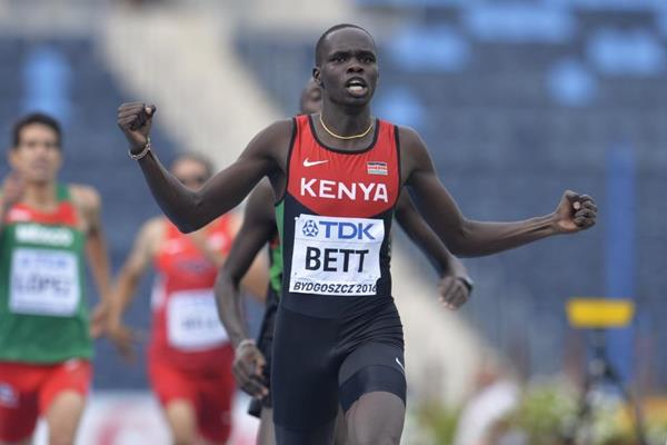 Kipyegon Bett suspendu quatre ans pour dopage à l'EPO