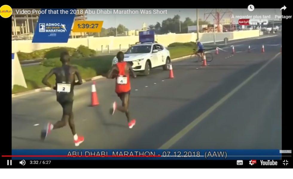 Analyse: le premier marathon d'Abu Dhabi était-il trop court?