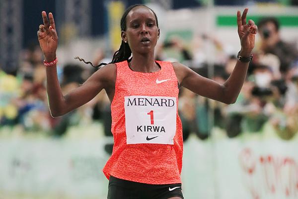 Eunice Kirwa, médaillée d'argent sur marathon aux JO, positive à l'EPO