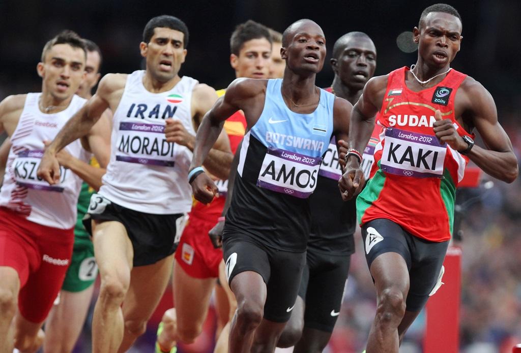 Nigel Amos et Abubaker Kaki