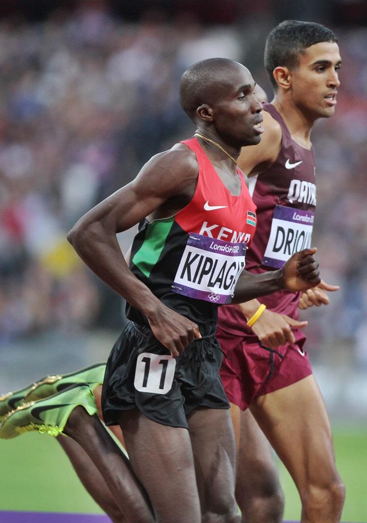 Silas Kiplagat (Kenya) et Hanza Driouch (Qatar)