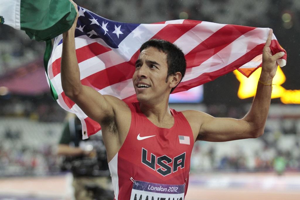 Leo Manzano, médaillé d'argent