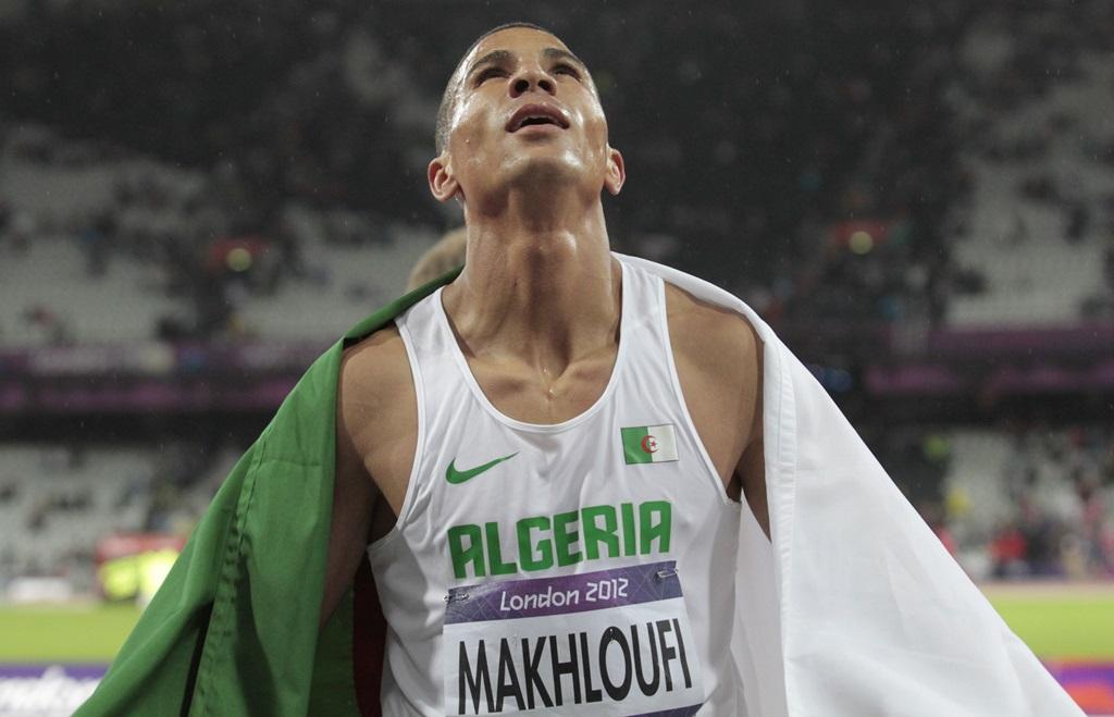 L'algérien Taoufik Makhloufi champion olympique