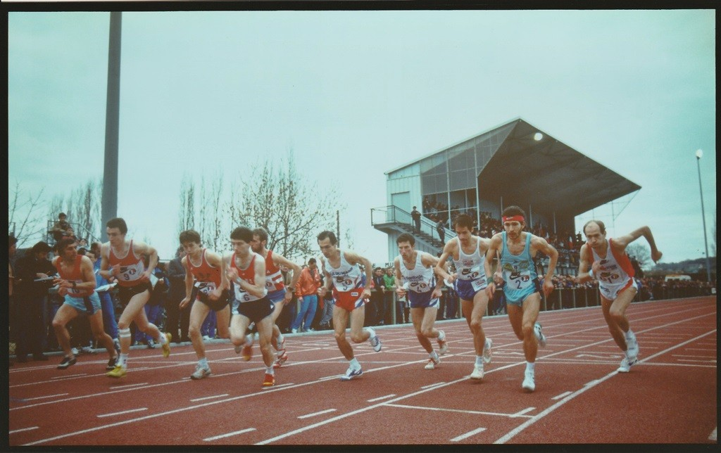 Départ de la première édition en 1989 avec Dominique Chauvelier (1)