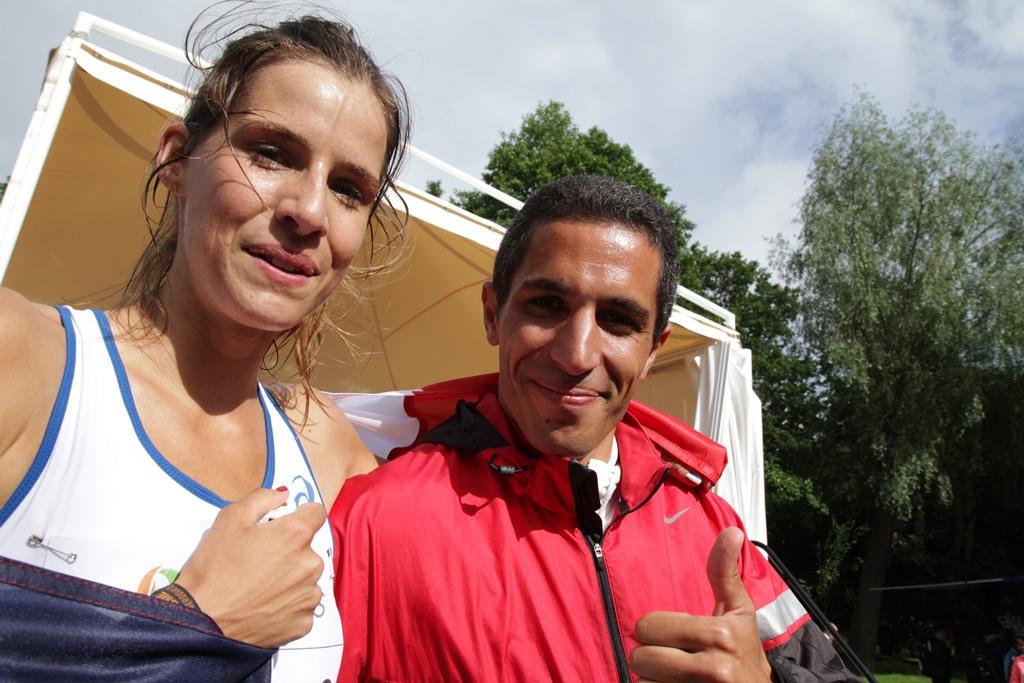 Maeva Danois et Adrien Taouji