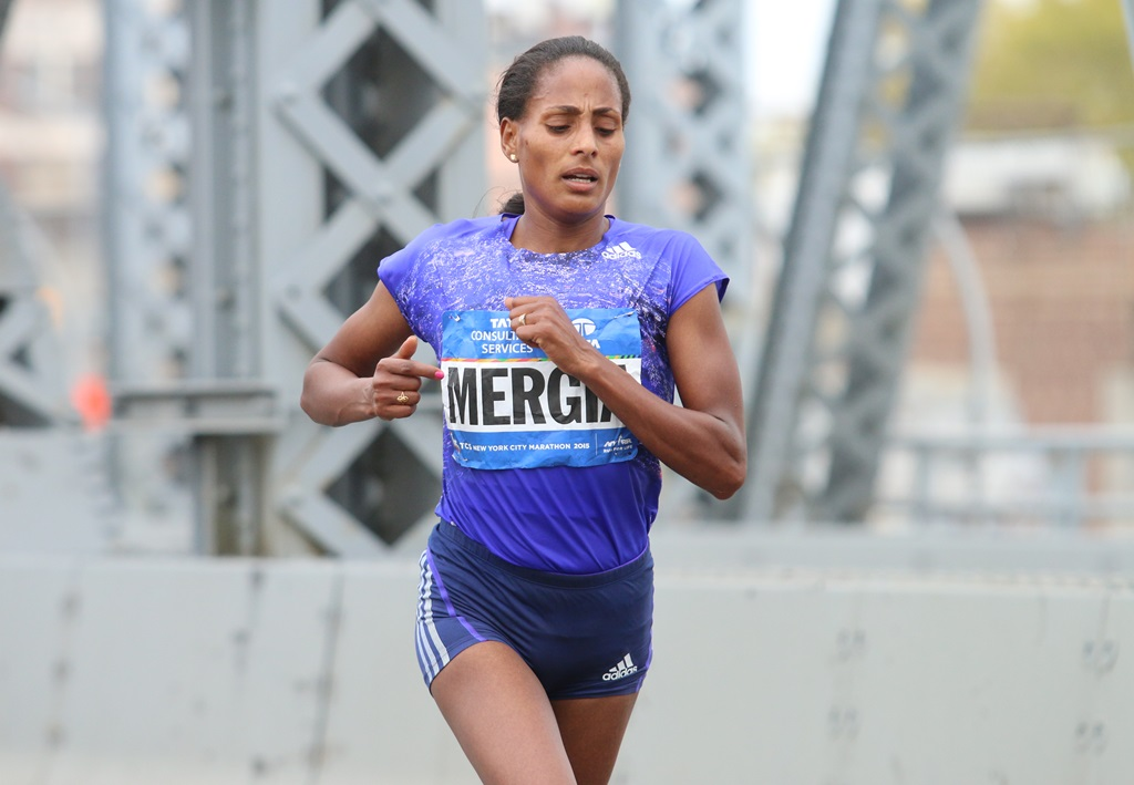 L'Ethiopienne Mergia entrainée par Gabriele Nicola