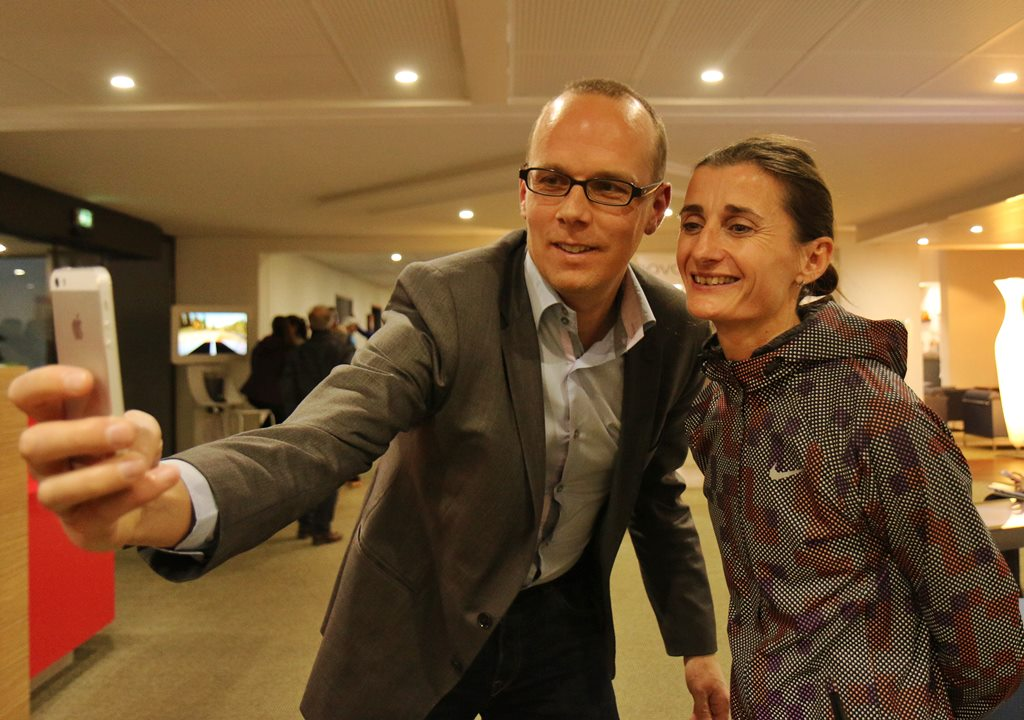 Arnaud Laviolette en compagnie de Christelle Daunay