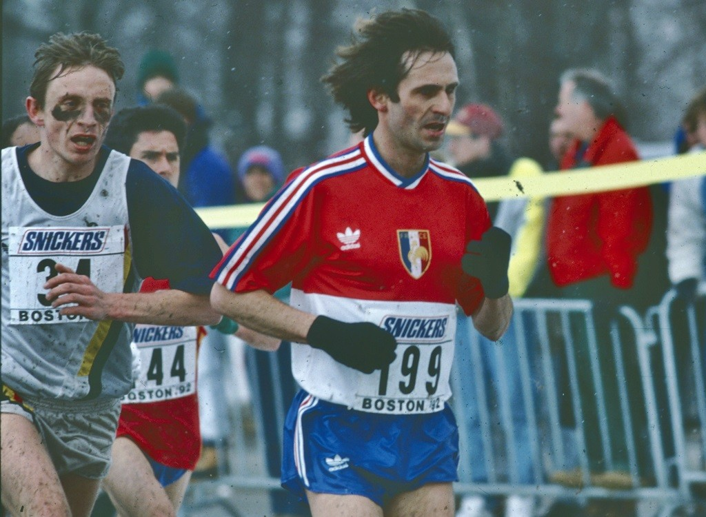 Pascal Thiébaut à Boston en 1991