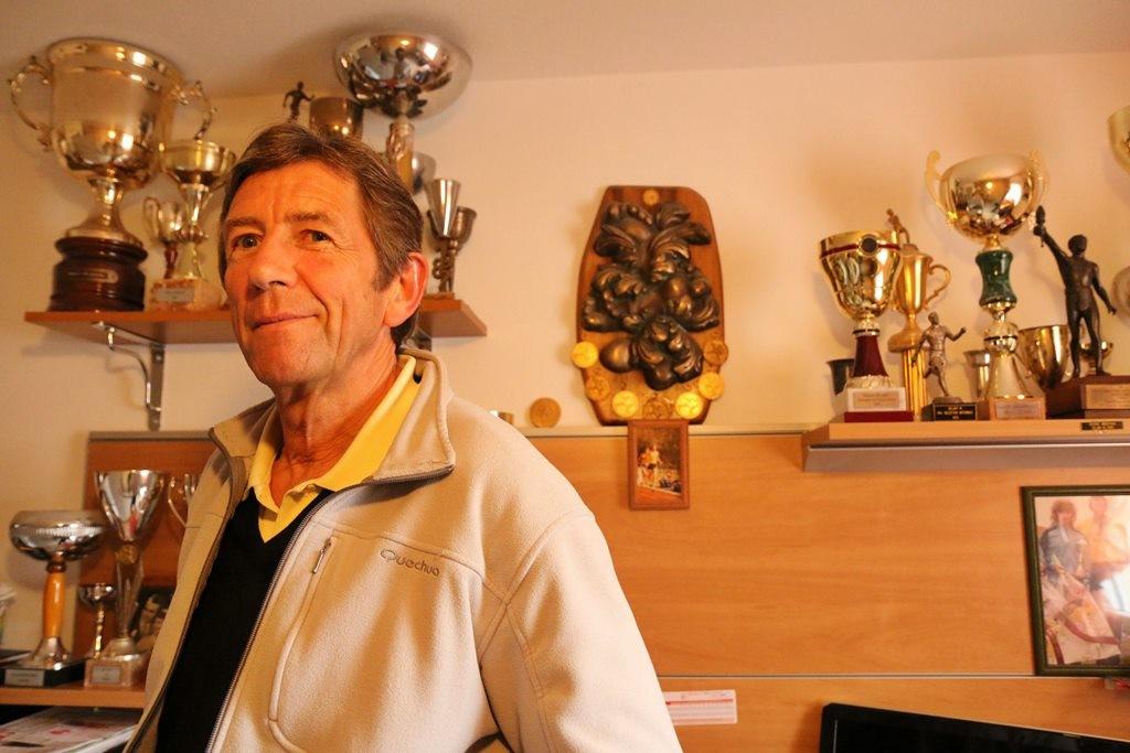 Michel Delaby est aujourd'hui avec sa femme Cathy un danseur reconnu dans le monde de la danse de salon (photo Gilles Bertrand)