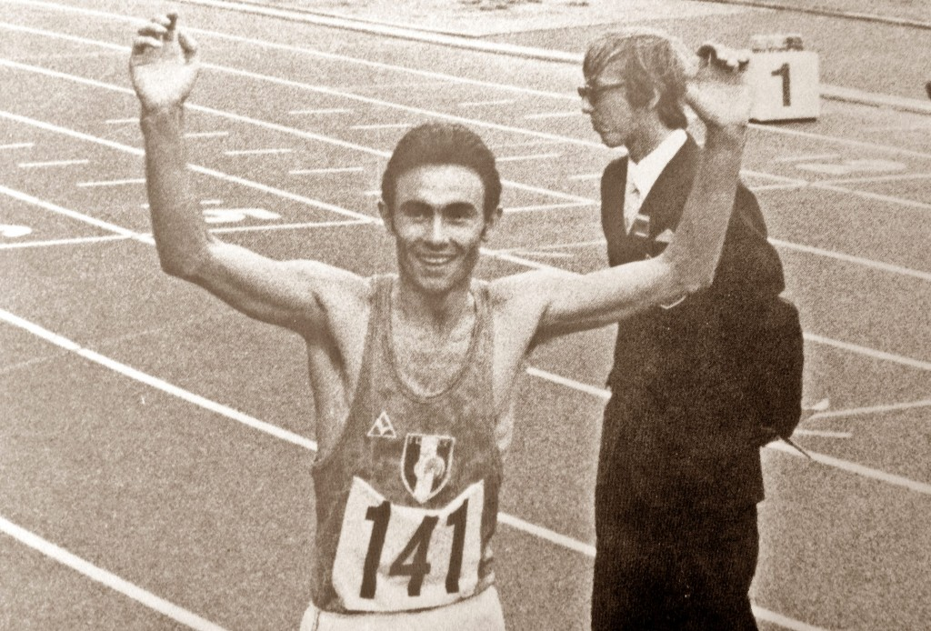 Jean Paul Villain, le V de la victoire aux Europe d'Helsinki en 1971