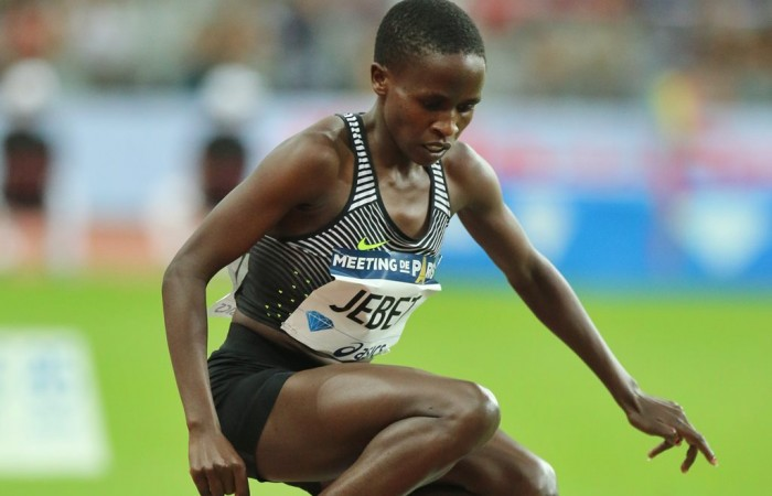 La championne olympique du steeple suspendue 4 ans