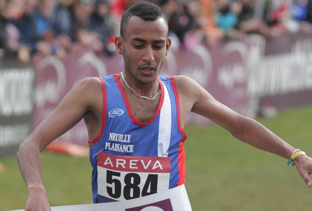 A. Labali vainqueur du cross court aux Mureaux en 2015