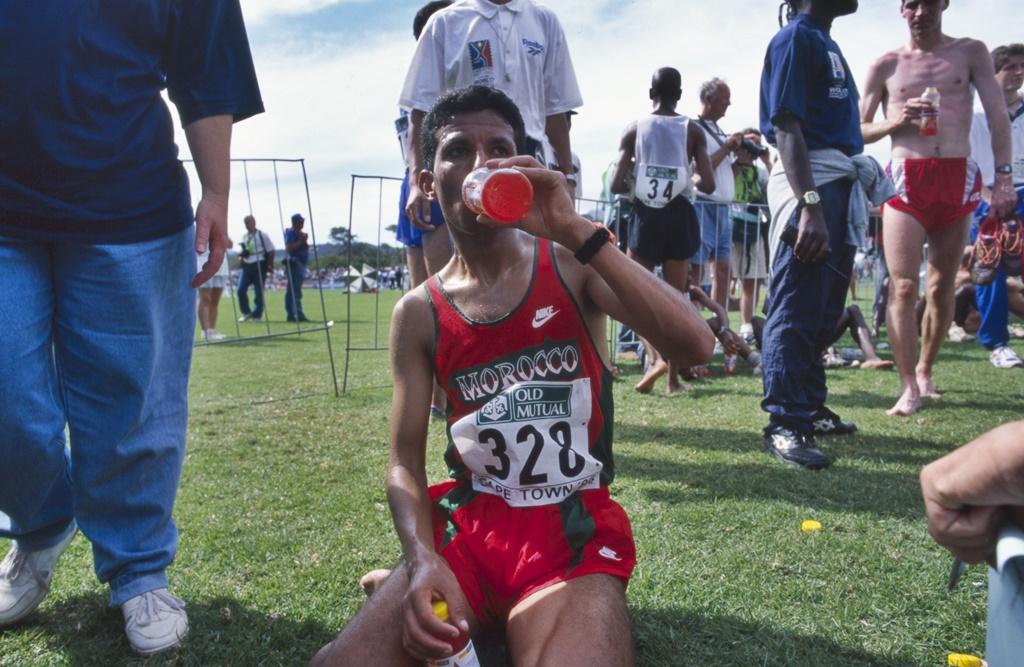 Mondial de cross 1996 Stellenbosch Smaïl Sghyr
