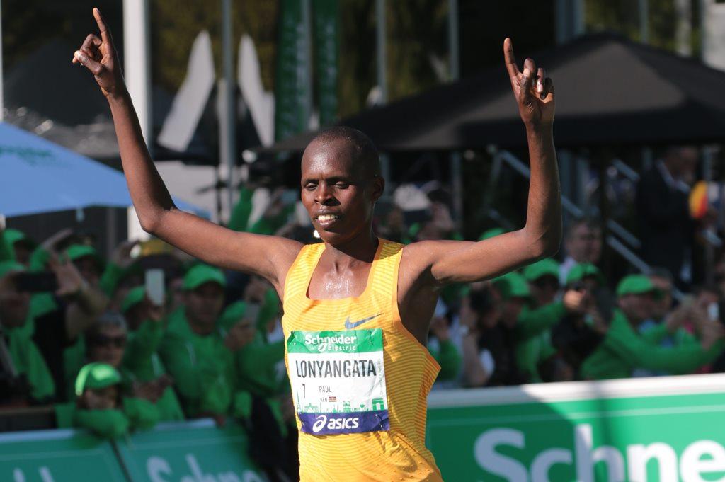 Paul Lonyangata le vainqueur